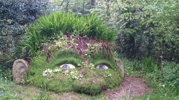The Giant at the lost gardens of heligan - 4 May 2015