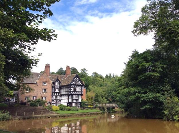Packet House Worsley - dates from 1760 Grade II listed - 15 July 2015