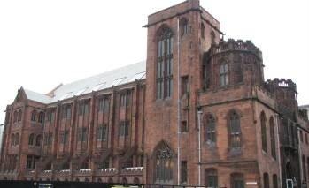 John Rylands Library, Deansgate, Manchester Uk