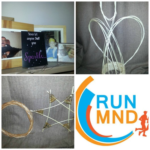 #100happydays 32/100 Run MND, 33/100 Sparkle, 34/100 Willow weaving