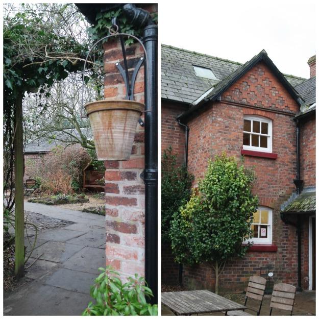 doorway gardeners cottage