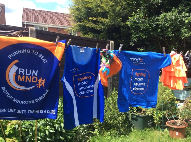 Motor neurone disease assoc tee shirts orange ra ra skirts