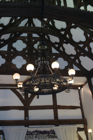 Chandelier in the Great Hall
